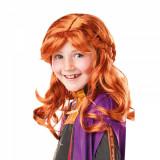 Cumpara ieftin Peruca pentru copii, Printesa Anna, Disney Frozen 2, marime universala