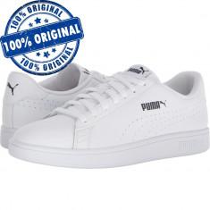 Pantofi sport Puma Smash 2 Perf pentru barbati - adidasi originali - piele