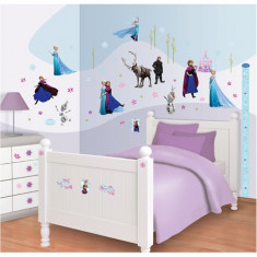Kit Decor Disney Frozen cu 70 de Stickere