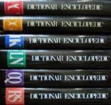 Dictionar Enciclopedic Roman Ilustrat (vol. I + II + III + IV + V + VI)