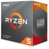 """CPU AMD skt. AM4 AMD Ryzen 5 3600 frecventa 3.6 GHz turbo 4.2 GHz 6 nuclee putere 65 W cooler """"100-100000031BOX"""""""