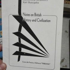 Notes on British History and Civilization – Clementina Mihailescu