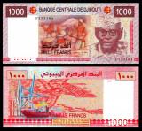 Djibouti 2005 - 1000 francs UNC