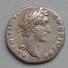 Antoninus Pius. Denarius argint Imperiul Roman