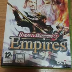 Joc XBOX 360 Dynasty Warriors 5 Empires original PAL / by WADDER