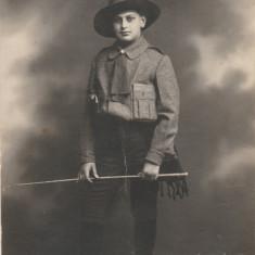 Vintila Stefanescu - Tanar cercetas din Campina anii '20, Foto IDEAL Campina