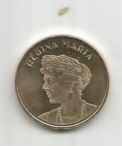 No(4) moneda-ROMANIA- 50 bani 2019- Regina Maria
