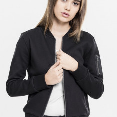Ladies Sweat Bomber Jacket
