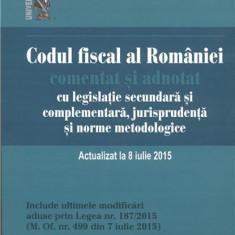 Codul fiscal al Romaniei | Emilian Duca