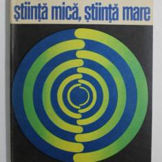 STIINTA MICA , STIINTA MARE de DEREK J. DE SOLLA PRICE , 1971