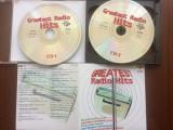 greatest radio hits compilatie various anii 80-90 2cd dublu disc muzica pop rock