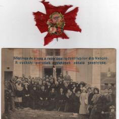 VASCAU SFINTIREA STEAGULUI REUNIUNEA INDUSTRIASILOR 29.01.1921  COCARDA