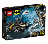 LEGO Super Heroes, Mr. Freeze in batalia pe batcycle 76118