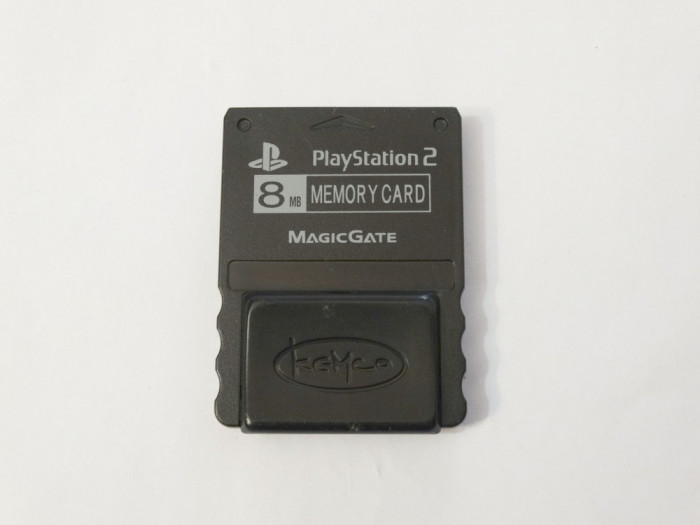 Card memorie Sony Playstation 2 PS2 8 Mb