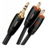 Cablu audio Audiocontrol Jack 3.5 mm - 2x RCA 0.6m Tower