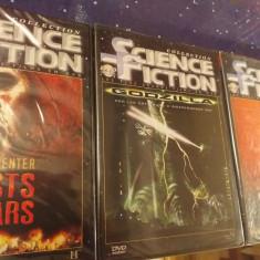 Colectia Science Fiction DVD, 3 filme originale