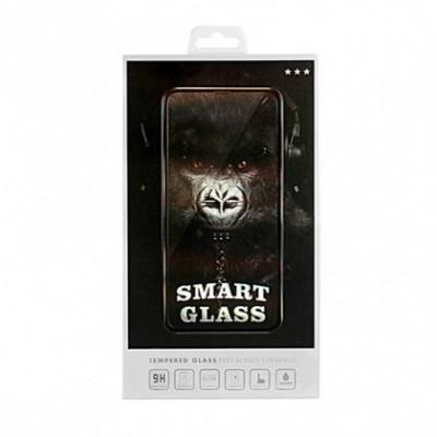 Folie Protectie ecran antisoc , Full Glue , Samsung A750, Galaxy A7 (2018), (Smart Glass), Full Face , Negru, Blister foto