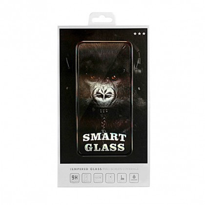 Folie Protectie ecran antisoc , Full Glue , Samsung A750, Galaxy A7 (2018), (Smart Glass), Full Face , Negru, Blister