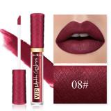 Ruj Lichid Mat Kiss Beauty VIP Long Lasting Formula 08#