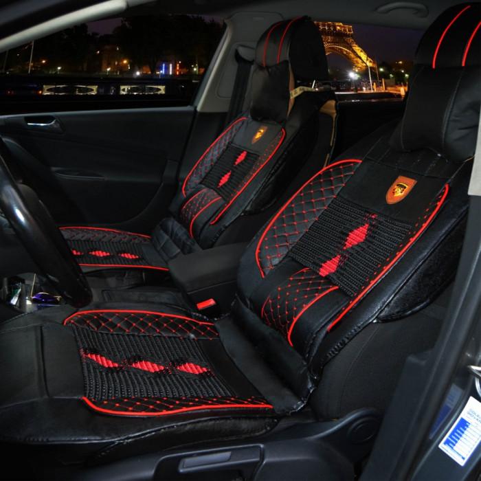 Huse scaune auto Piele Ecologica si material textil