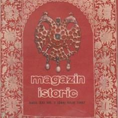 Magazin istoric, Iulie 1987