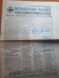 ziarul romania mare 27 decembrie  1996-numar cu ocazia anului nou