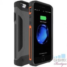 Husa Acumulator Extern iPhone 7 / 6s / 6 Power Bank 4000mAh Neagra
