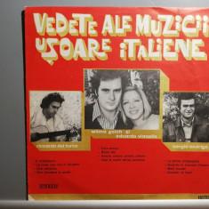 Vedete ale Muzicii Usoare Italiene  - Selectii(ede 0812/Electrecord) - VINIL/NM+