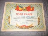 diploma de onoare vezi numele repede nicolae an 1959 c21