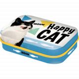 Cutie metalica cu bomboane - Happy Cat