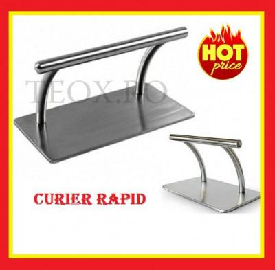 Suport picioare Profesional Suport metalic pentru scaun coafor/frizerie foto