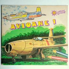 Avioane  1  -  Carte de colorat