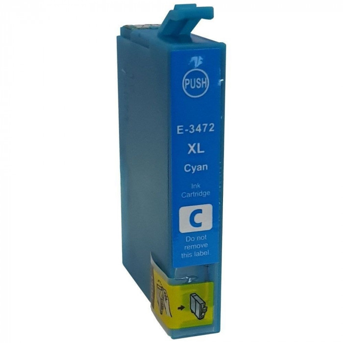 Cartus cerneala compatibil Epson T3472 - Cyan