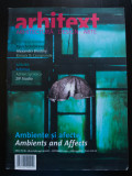 Arhitext nr. 8-9/ 2009: Ambiente și afecte. Ambients and Affects