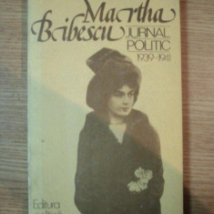 Jurnal politic -Martha Bibescu 1939-1941