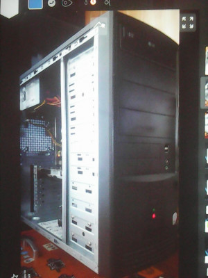 Sistem PC 4x2,83Ghz, 8GB DDR2, hdd 160+500Gb, 1Gb video, DVDRW+Monitor L242 foto