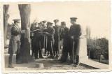 D630 Fotografie ofiteri romani cu sabii 1936