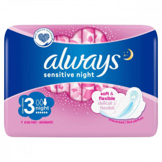 Absorbante ALWAYS Ultra Sensitive Night 7 bucati