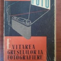 Evitarea greselilor la fotografiere- S.Comanescu