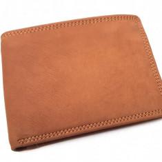 Portofel barbati din piele naturala - maro - CH1006BRW