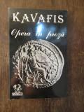OPERA IN PROZA -KAVAFIS