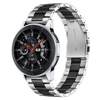 Curea metalica 22mm ceas Samsung Galaxy Watch 3 46mm Gear S3 Frontier Huawei GT foto