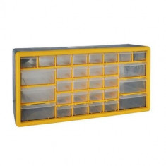 Organizator accesorii Strend Pro SBx3045-E, 30 sertare, 500x160x230 mm, maxim 25 kg Mania Tools