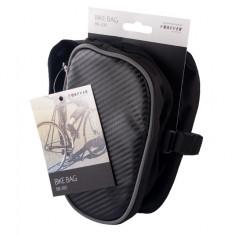 Suport telefon Forever BB-300 tip geanta negru pentru bicicleta