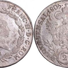 1805 - B - 20 kreuzer - Francis II - Imperiul Austriac