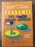 Economie teste-probleme-rezolvari-raspunsuri- Paul Tanase Ghita, Mircea Cosea
