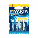 Baterii Varta Alcaline R3 AAA, 4 buc