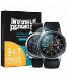 Folie Protectie Sticla Securizata Ringke ID Glass 8809628565333 pentru Samsung Galaxy Watch 46mm / Gear S3, 3+1 (Transparent)