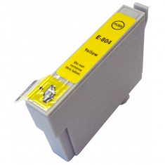 Cartus Epson T0804 compatibil yellow de capacitate mare