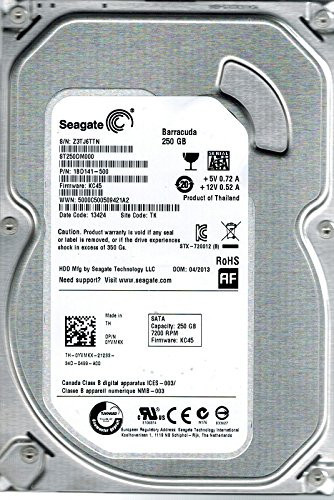 HDD 250 GB SATA3 perfect functional